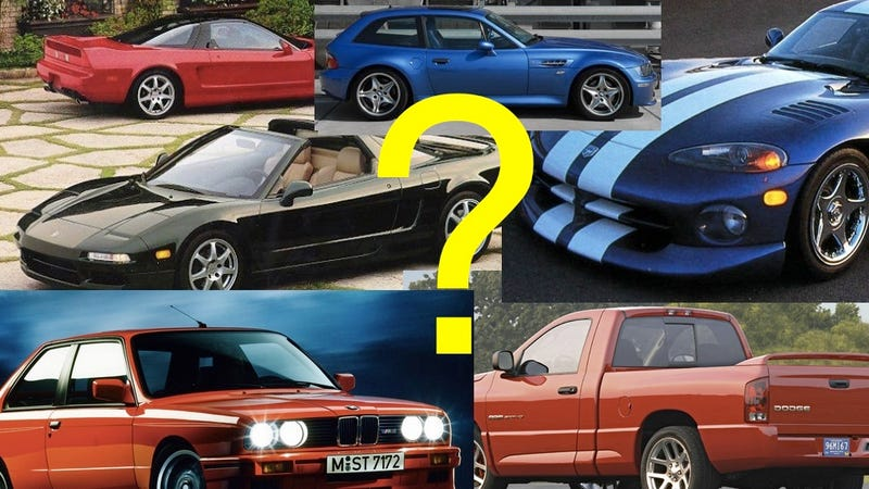 Illustration for article titled What Ridiculous Used Car Should I Buy And Write About?