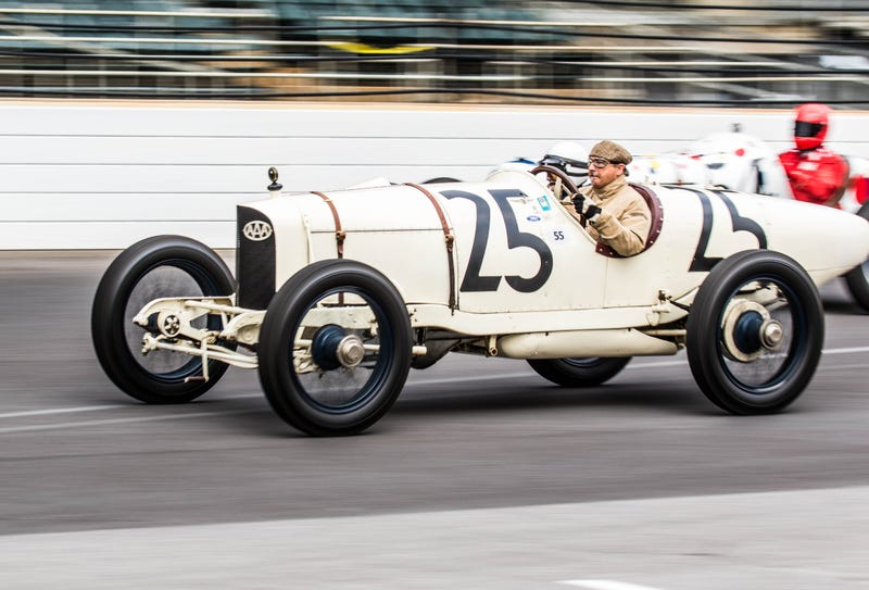 Check Out The Wild Vintage Race Cars That Came Out For The Indy
