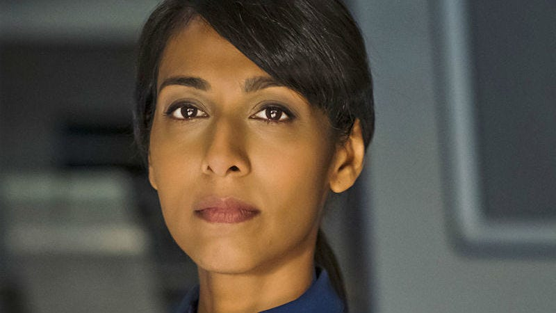 Rekha Sharma, seen here on Star Trek: Discovery, will star in The Telling, based on the novel by Ursula K. Le Guin.