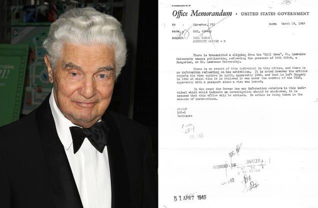 Here's the FBI File of Paul Soros, Brother of Billionaire George Soros