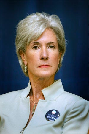 Illustration for article titled Kathleen Sebelius Is In, Much To Howard Dean's Dismay