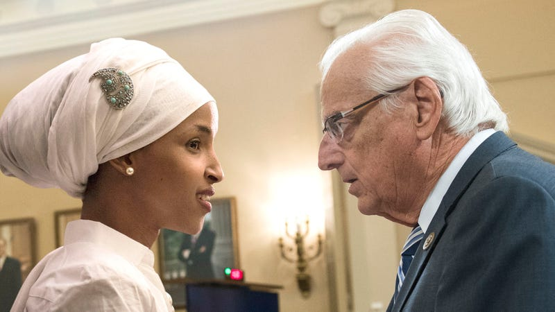 Illustration for article titled 82-Year-Old New Jersey Congressman Bill Pascrell Quietly Asks Ilhan Omar If He Can Be Part Of The Squad