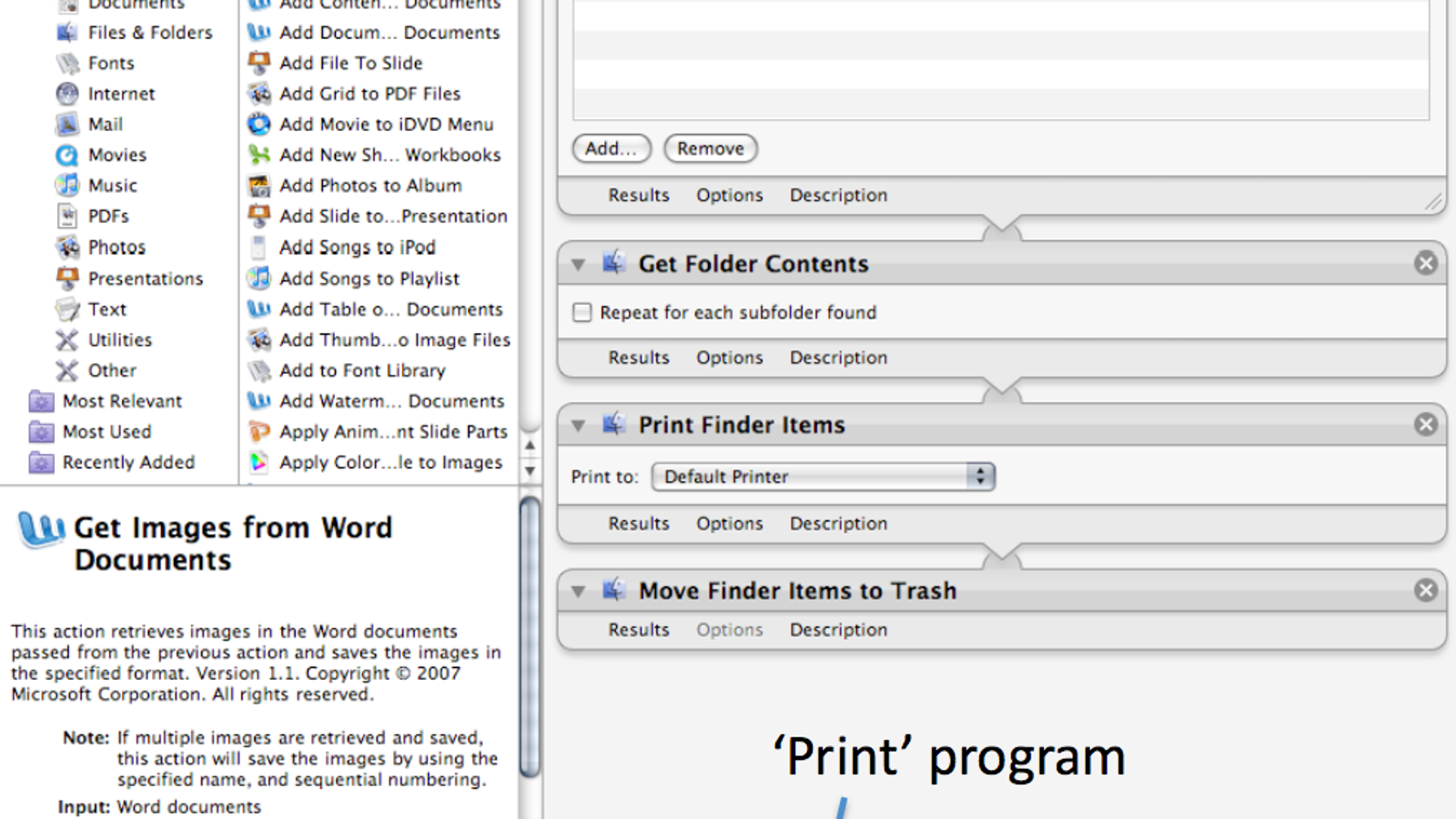 Print Documents in Batches with Automator