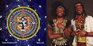 Zulu Guru album cover; Jesse Boykins III and MeLo-X (zulu-guru.com)