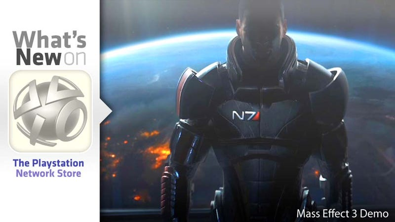 Illustration for article titled Mass Effect 3 Demo and Tons of Vita Games New This Week on the PlayStation Store