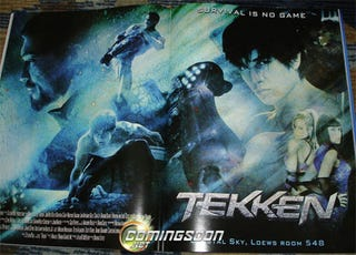 Illustration for article titled First Tekken Movie Sales Art Shows Off Six Iron Fist Fighters