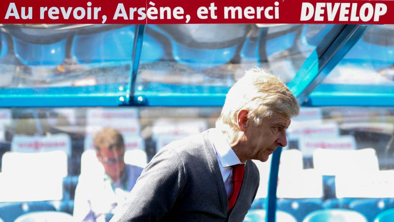 """Illustration for article titled Arsène Wenger On Unemployed Life: """"I Can Sit For Hours Contemplating The Horizon"""""""