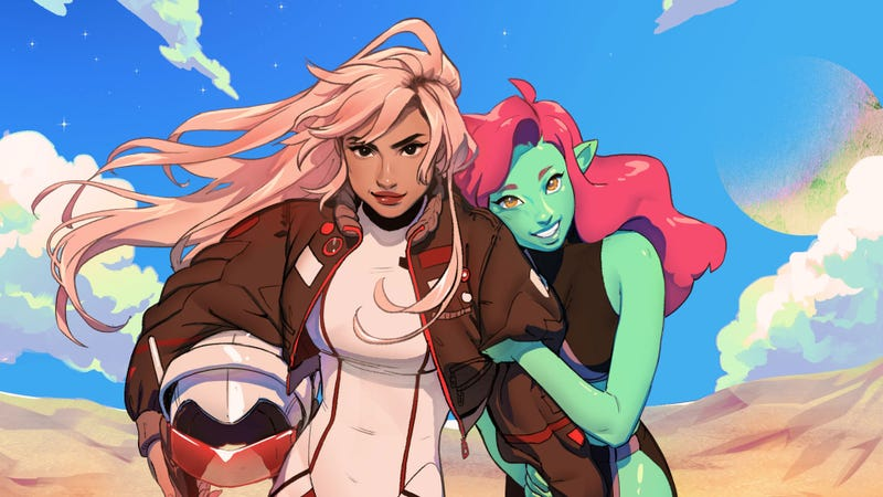 Illustration for article titled Space Girls