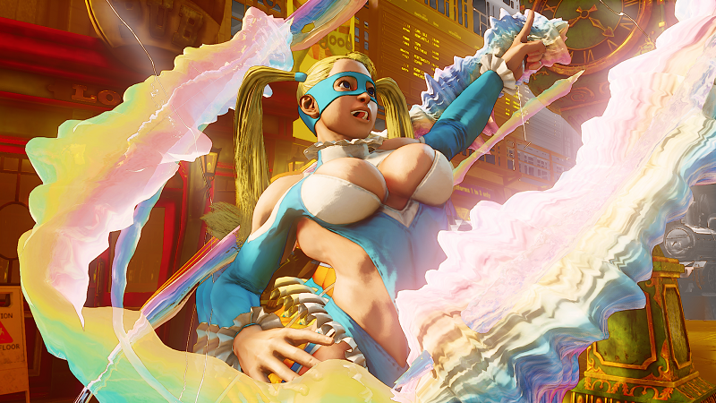 Illustration for article titled R. Mika And Her Ridiculous Outfit Join Street Fighter V