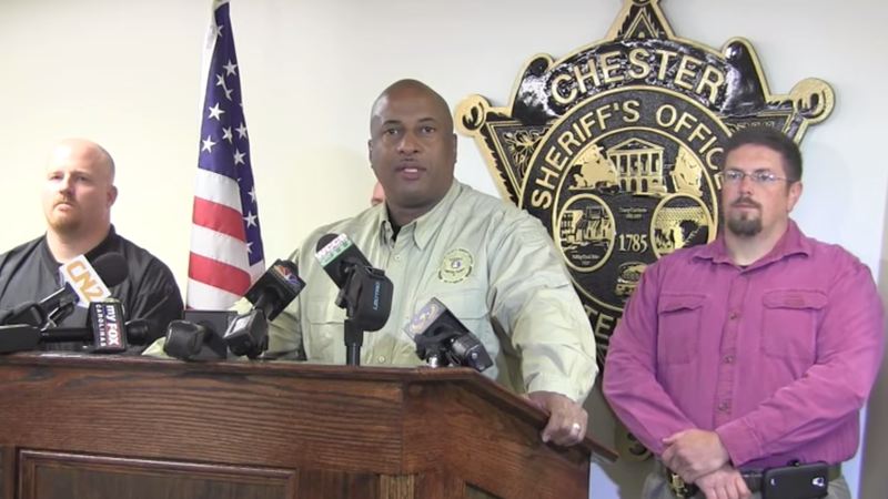 Chester County Sheriff Alex Underwood Indicted