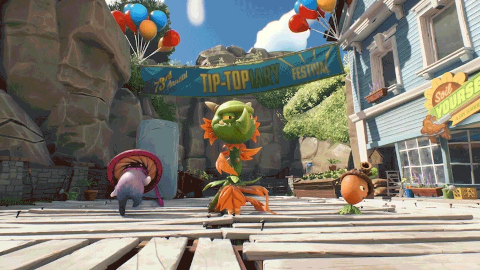 New plants vs zombies shooter announced goes live today - Plants versus zombies garden warfare ...