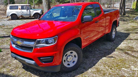 What's The Point Of The 2017 Chevy Colorado's New Engine And