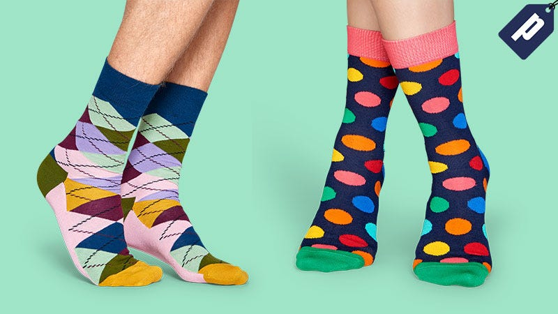 Illustration for article titled Revive Your Sock Drawer With Happy Socks: Endless Styles & Designs (30% Off)