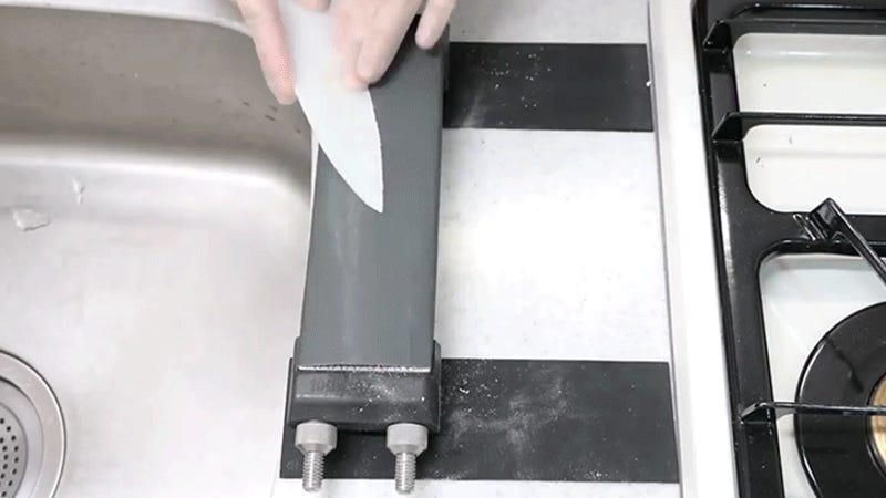 A Chef's Knife Made From Plastic Wrap Proves Everything in Your Kitchen Is a Blade Waiting to Happen
