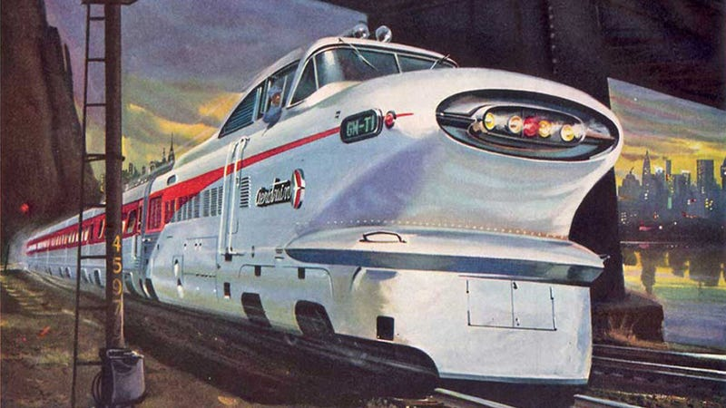 Illustration for article titled The Ten Coolest Trains Ever Built
