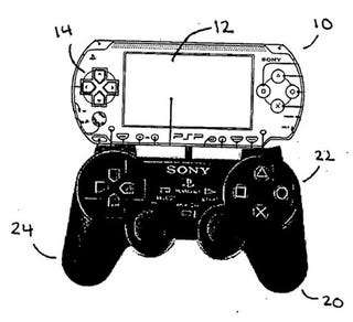 Illustration for article titled Sony PS2/PSP Patent, Portable Gaming Less on Portable, More on Gaming