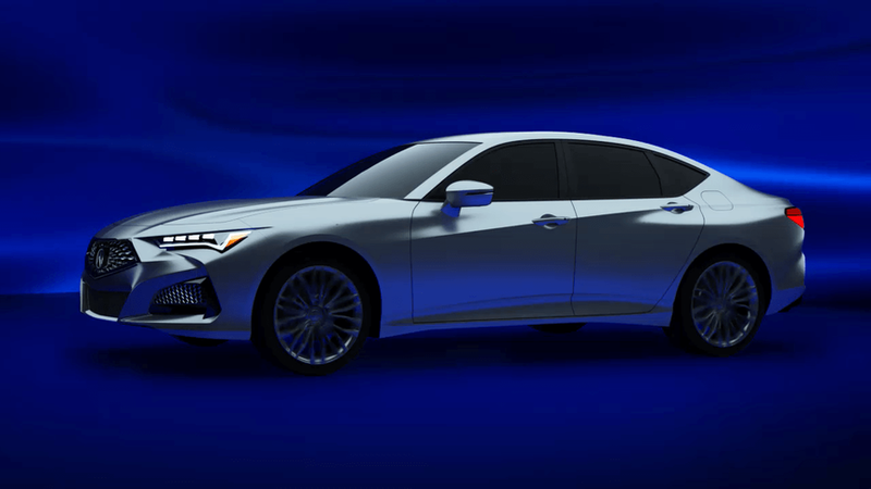 Here's the 2021 Acura MDX and TLX Way Before You're Supposed