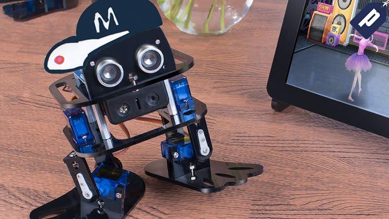 Illustration for article titled Save 25% On The SunFounder Nano DIY Dancing Robot Kit ($45)