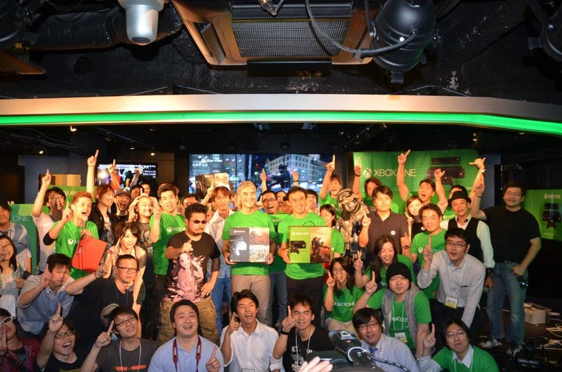 Illustration for article titled Microsoft Isn't Satisfied with the Xbox One's Japanese Launch