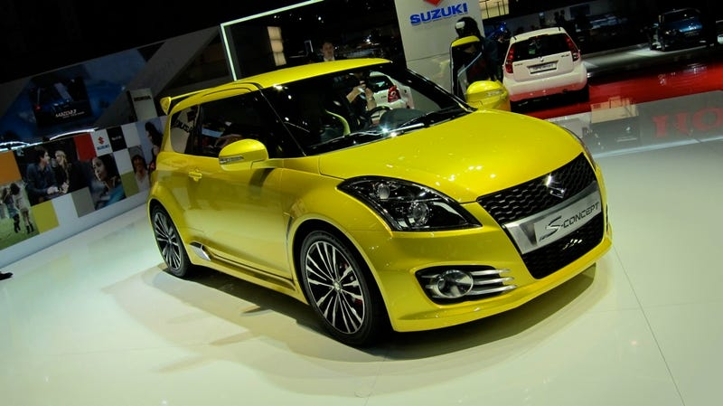 Illustration for article titled Suzuki Swift S-CONCEPT S-NOTBAD