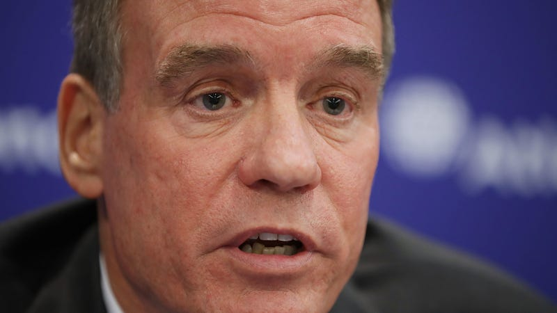 Sen. Mark Warner (D-Va), one of the authors of the DASHBOARD Act.