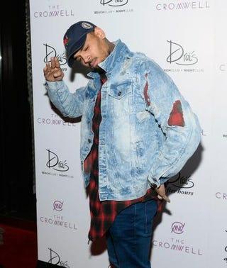 Chris BrownBryan Steffy/Getty Images for Drai's Beachclub-Nightclub