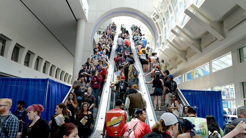Illustration for article titled What Happens at Comic-Con and Why It's Awesome