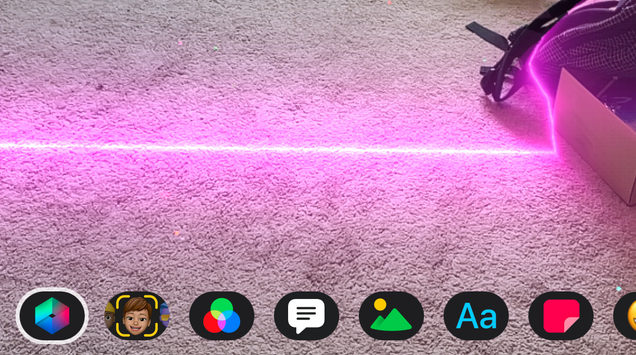 How to Add Lasers and Other AR Effects in Apple s  Clips  App