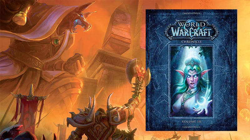 Illustration for article titled The Final Volume Of Blizzard's World of Warcraft Chronicle Gets To The Good Stuff