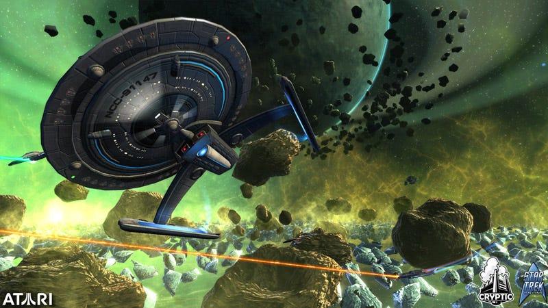 Illustration for article titled Star Trek Online Captain's Log #1: A Trek Fan's Dream