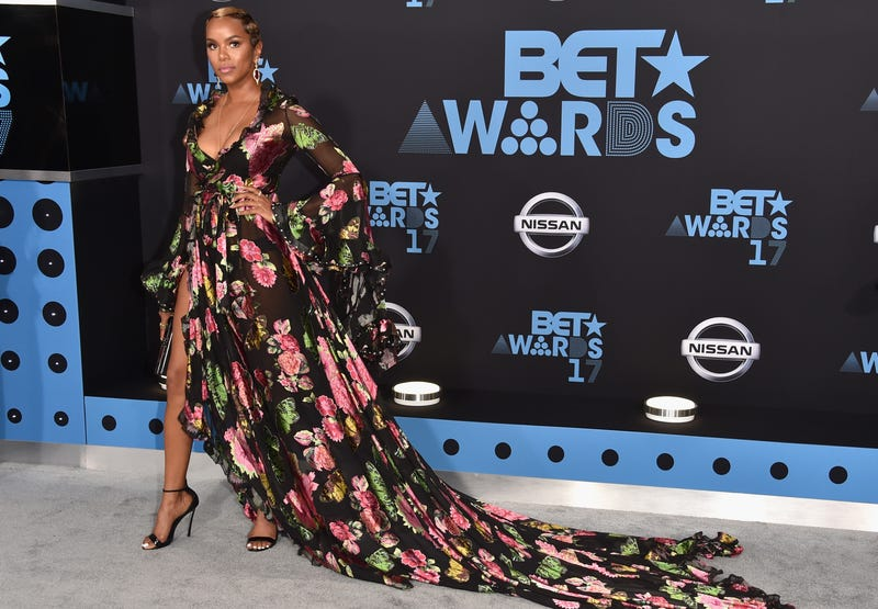 02dfd0485206 Denim, Diamonds, Leather, and Lace on the Glam, No-Rules BET Awards ...