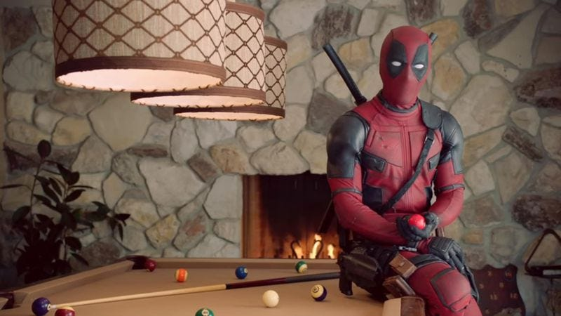 Illustration for article titled Deadpool wants men to touch themselves, screen for testicular cancer