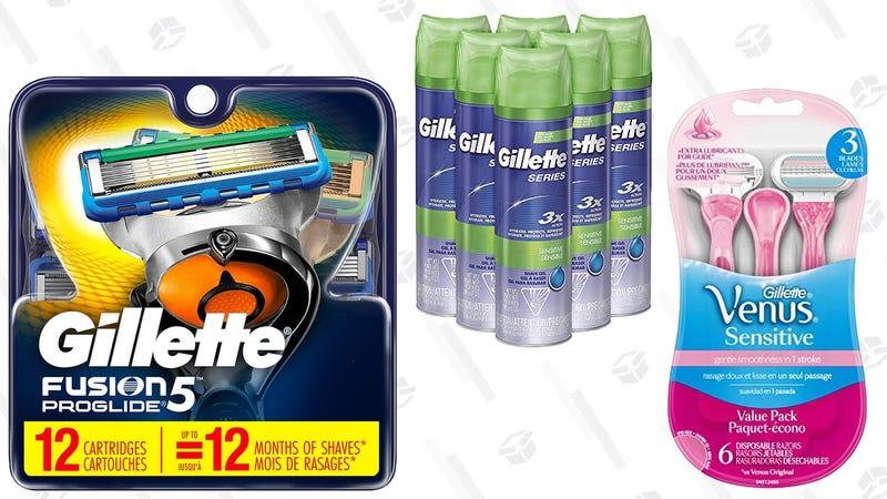 Gillette and Venus Gold Box | Amazon