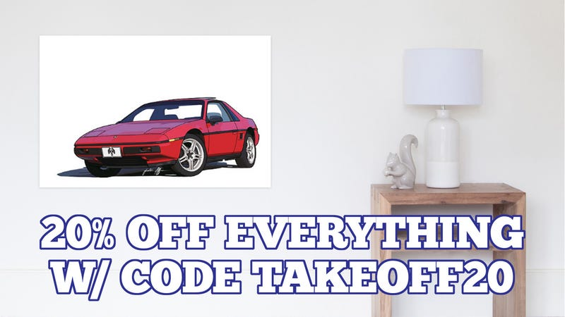 Illustration for article titled Were the Fiero stickers too expensive last time?