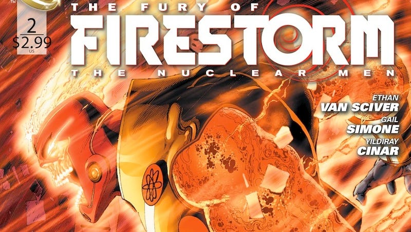 Illustration for article titled Check Out the First Pages of DC Comics' Fury of Firestorm #2