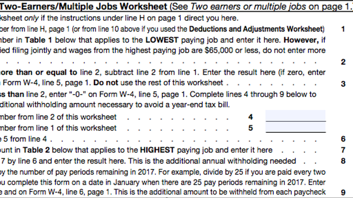 Worksheets Personal Allowances Worksheet Help a beginners guide to filling out your w 4