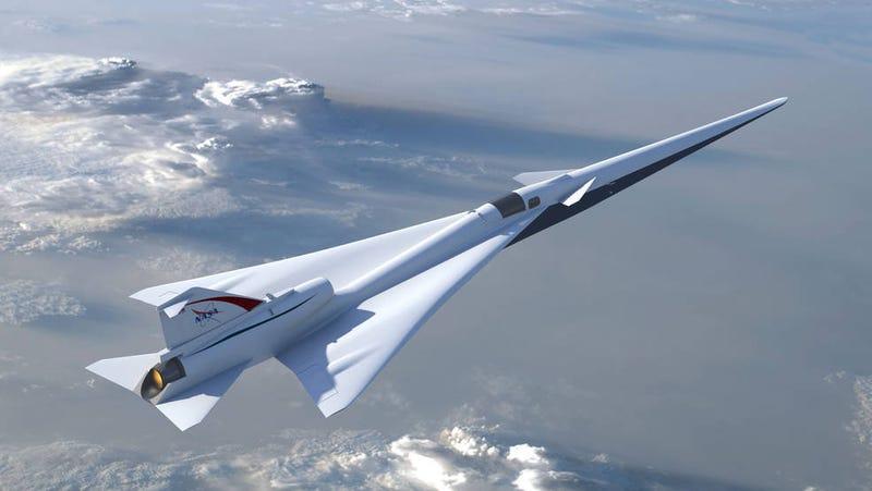 The Low-Boom Flight Demonstrator, artists' concept
