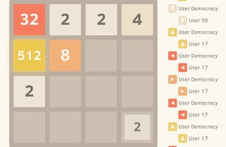 Illustration for article titled 2048 Is Harder When You Play It With Other People