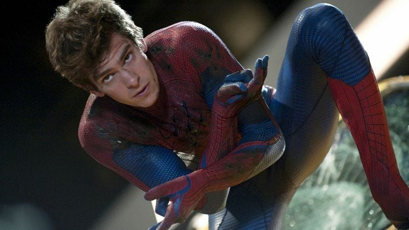 Illustration for article titled Spider-Man is both Jewish and Jesus, according to Andrew Garfield