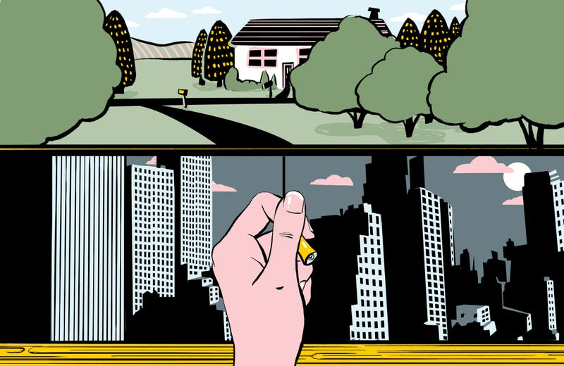 Illustration for article titled How To Say Goodbye To City Life