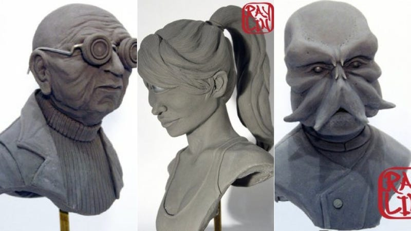 Illustration for article titled Ultra-realistic Futurama replicas creep us the hell out