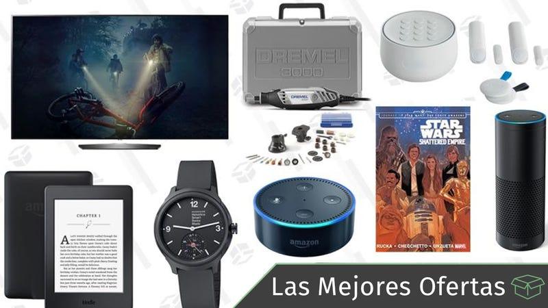 Illustration for article titled Las mejores ofertas de este miércoles: Televisores OLED, Kindles, Dremel y más