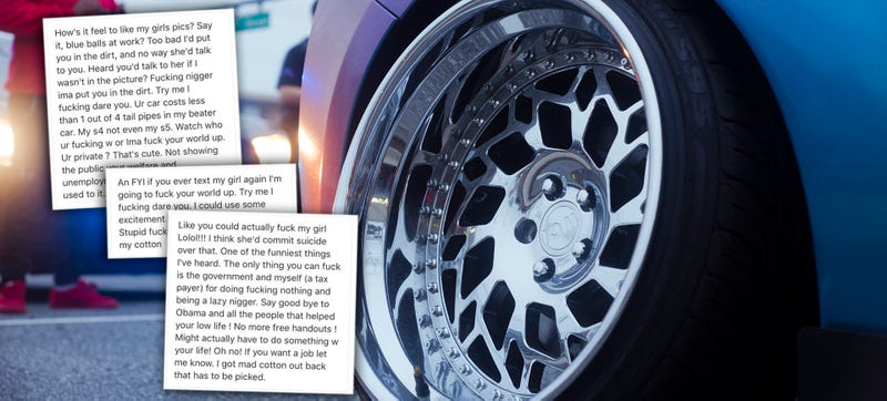 Illustration for article titled Racist Tirade Sends Aftermarket Wheel Company Into Internet Lockdown