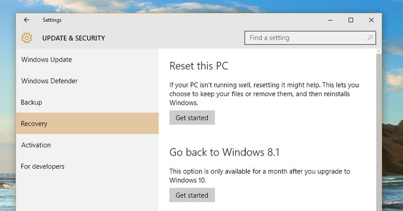 Illustration for article titled PSA: Windows 10 Isn't a Risk-Free Upgrade