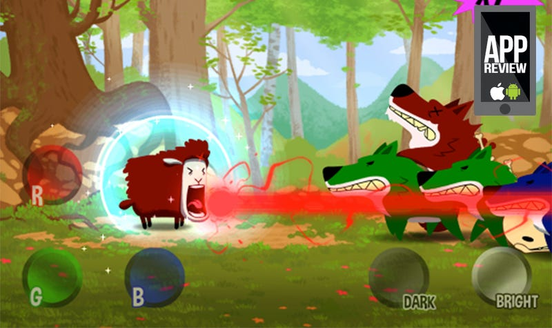 Illustration for article titled Three Colors Combine to Form the Finest Sheep Shooter Ever