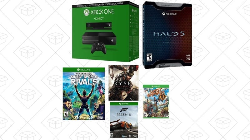 Refurb Xbox One + Five Games, $279