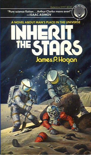 Illustration for article titled R.I.P. hard science fiction writer James P. Hogan