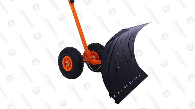 Ohuhu Wheeled Snow Shovel | $75 | Amazon | Clip the $5 coupon