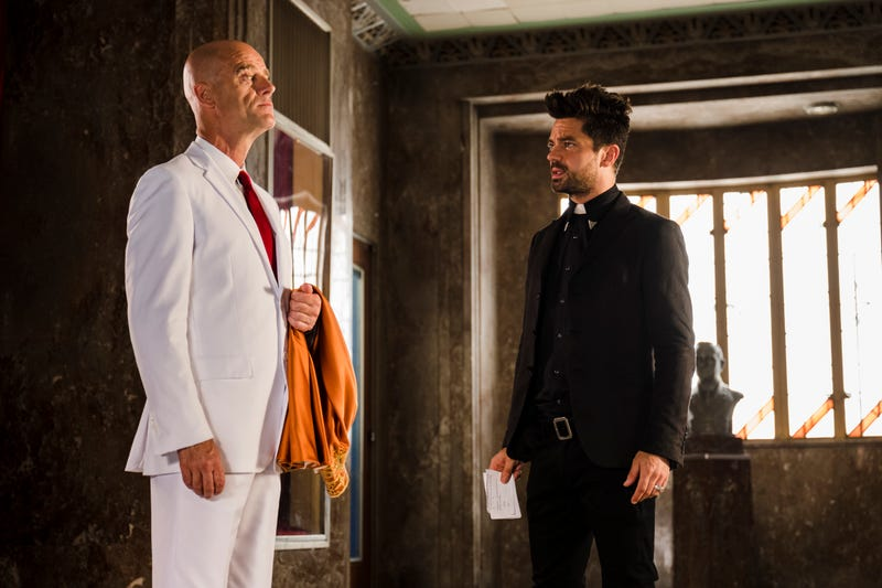 Pip Torrens and Dominic Cooper (Photo: Michele K. Short/AMC/Sony Pictures Television)