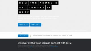 Illustration for article titled Blackberry's BBM App Page Mistakenly Went Live, Here's What It Said